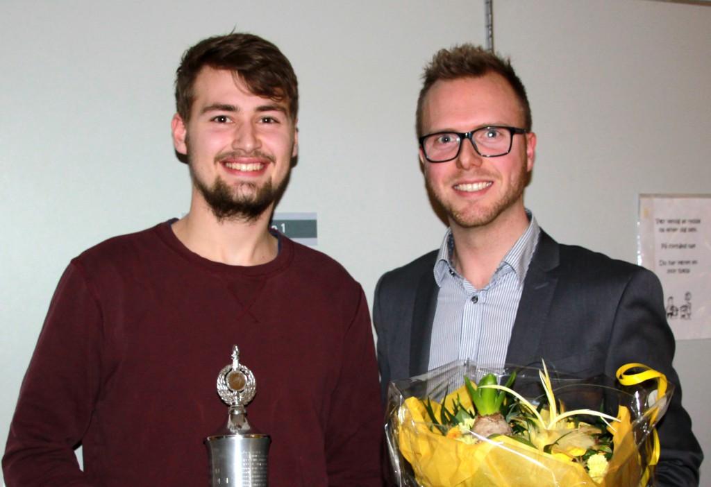 TV: Kristian SA?gaard og TH: Patrick Tindal Pedersen (Jutlander Bank)