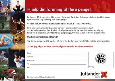 Jutlander Bank - Henvisningsblanket - stor