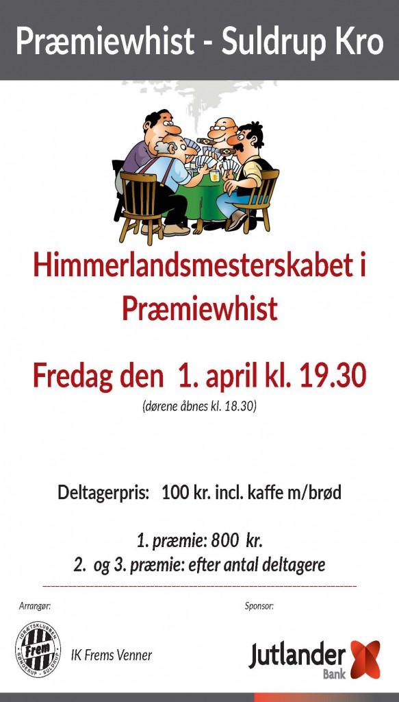 Plakat Præmiewhist